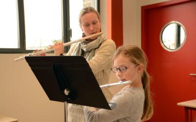 Audition de flûte