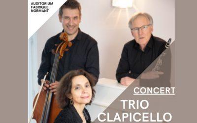 Concert : Trio Clapicello